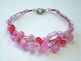 bead wire bracelet images How to crochet a bead and wire bracelet craftstylish jpg