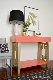 right up my alley tutorial society social melrose knock off table