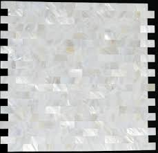 of pearl sea shell mosaic kitchen backsplash tiles mop008