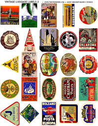 Oklahoma travel luggage bags images 25 luggage labels vintage international and american travel jpg