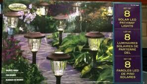 Solar Lantern Lights Costco - paradise solar led accent lights 4 pk u2013 costcochaser