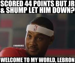 Melo Memes - nba memes on twitter carmelo anthony chimes in on the cavs http