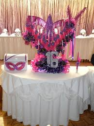 Decorations For Sweet 16 Masquerade Decoration Ideas Masquerade Decorations Theme Colors