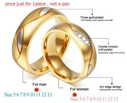 fashion wedding rings images Meaeguet couple rings for women men cubic zirconia wedding ring jpg