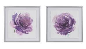 madison park signature u0027purple ladies rose u0027 2 piece framed