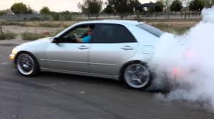 lexus is300 wagon slammed 1jz is300 burnout youtube