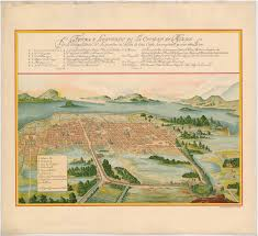 Mexico Map 1800 This Is The Mexican Village Of Mexcaltitan It Is Built On An