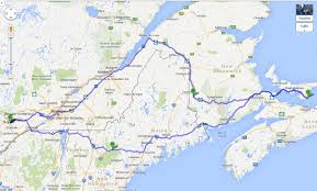 Trans Canada Highway Map by Roadtripping Crowdsourcing A Route From Ottawa To Pei And Back