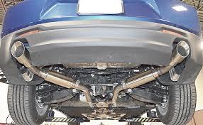 camaro exhaust system 2016 camaro lgx v6 version 1 axle back performance exhaust system