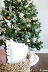 rustic christmas jingle through decor simple rustic christmas tree lion lantern