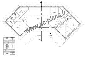 plan de maison en v plain pied 4 chambres plan de maison en v gratuit 11 u free affordable moderne pdf