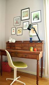 Desk Decorating Ideas Astounding Antique Secretary Desk Decorating Ideas For Home Office