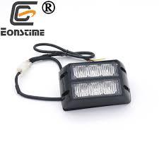 battery powered emergency lights for vehicles eonstime 12v 24v 6led car strobe lights bar auto vehicle flash light