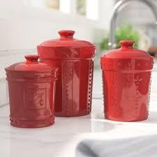 lark manor genesee 3 piece kitchen canister set u0026 reviews wayfair