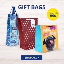 present bags gift wrap boxes bags from 49p