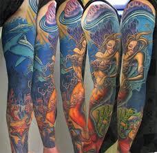 beach themed tattoo sleeves google search beaut u0027toos