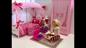 barbie bedroom morning routine chelsea