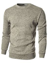pullover sweater ohoo mens slim fit crew neck pullover sweater at amazon s