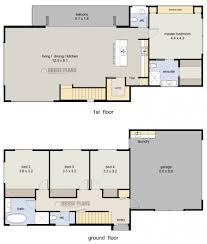 2 story home floor plans uncategorized 2 story 4 bedroom house floor plan striking in