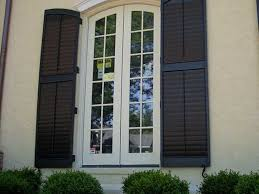 exterior wood shutters home depot diy craftsman exterior shutters