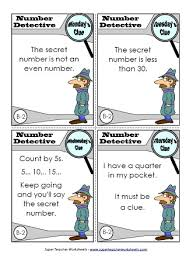 place value mystery number mystery number worksheet jpg