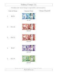 math worksheets for grade 4 money bloomersplantnursery com