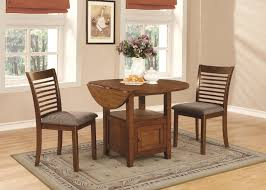 piece walnut dining room set with storage table by coaster 101521