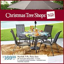 tree shop outdoor furniture decor