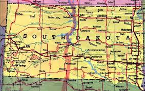 south dakota road map south dakota map south dakota mappery