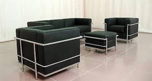 Loveseat Ottoman Fine Mod Imports Lc2 Petit Chair Loveseat Sofa And Ottoman
