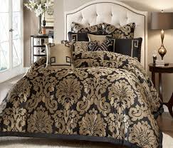 Luxury Bed Sets Black And Gold Bedding Sets For Adding Luxurious Bedroom Decors