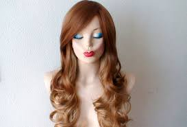 ambre suit curly hair ombre wig honey blonde strawberry blonde long curly hair