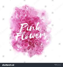 wedding backdrop design vector abstract pink floral watercolor backdrop ideal stock vector