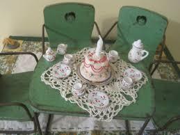 little tea table set a tea set for my doll table lillian s cupboard