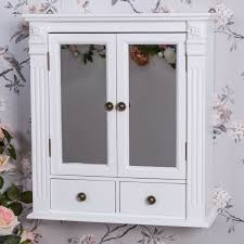 vintage kitchen wall cabinet white white wooden mirrored bathroom wall cabinet vintage chic