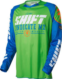 mens motocross jersey 2016 shift strike motocross dirtbike mx atv riding gear mens