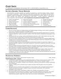 Power Plant Electrical Engineer Resume Sample by Resume Examples For Engineers Example Of Resume Format For Job