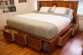 easy build platform bed plans nortwest woodworking community