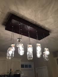 Chandelier Light Fixtures by Mason Jar Chandelier 10 Steps With Pictures