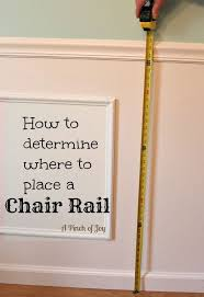 Chair Rails In Dining Room by Best 25 Chair Rail Molding Ideas On Pinterest Crown Molding In