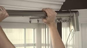 Rod Desyne Heavy Duty Center by Decorative Double Traverse Curtain Rods Doherty House Traverse