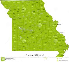 Missouri State Map Missouri Stock Illustrations U2013 770 Missouri Stock Illustrations