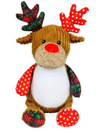 christmas reindeer cubbies plush christmas reindeer so unique gifts