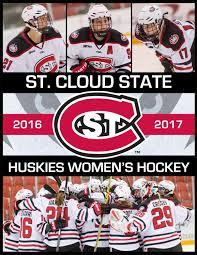 2016 17 st cloud state university women u0027s hockey media guide by