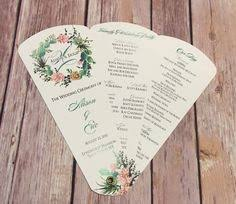 fan wedding program kits add a stylish touch to your wedding ceremony with these diy petal
