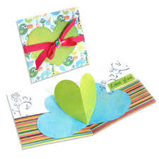 bigz die extra long die cutting template 3 d pop up card heart