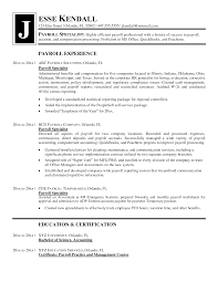 Contract Specialist Resume Sample by Payroll Specialist Resume Sample Resume For Your Job Application