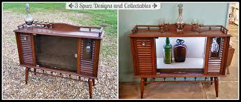 3 spurz dandc repurposed refurbished creations mid century tv