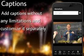 Meme Caption Font - meme creator android apps on google play