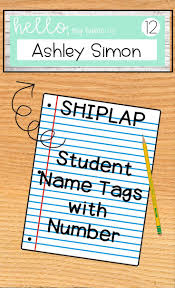 Desk Plates Best 25 Student Name Tags Ideas Only On Pinterest Teacher Hacks